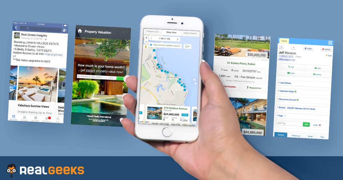Real Estate Mls Websites Idx Solutions Web Design By Real Geeks